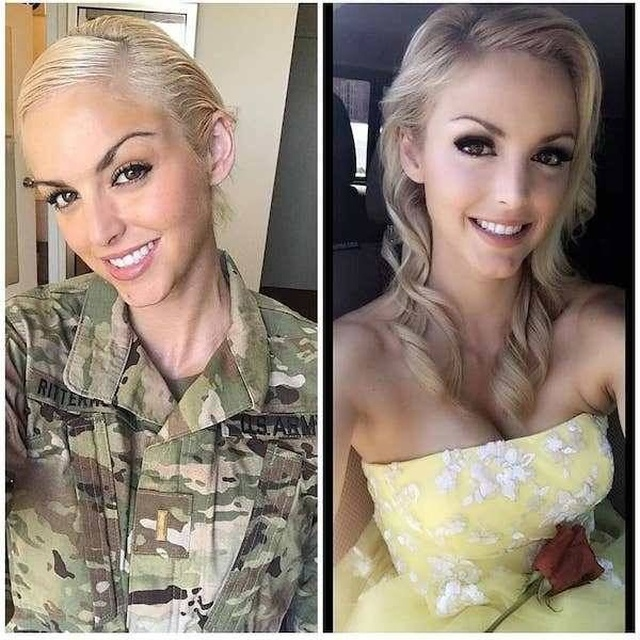 Girls With And Without Uniforms (44 pics)