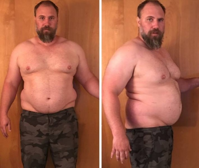 Guy Loses 92 lbs (42 kg) In 5 Months (9 pics)