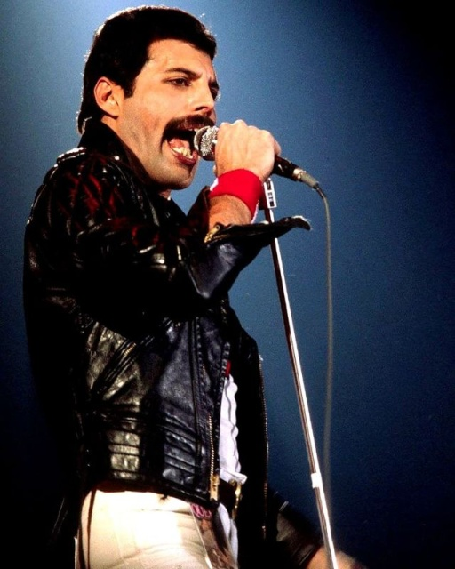 Photos Of Freddie Mercury on Stage (50 pics)