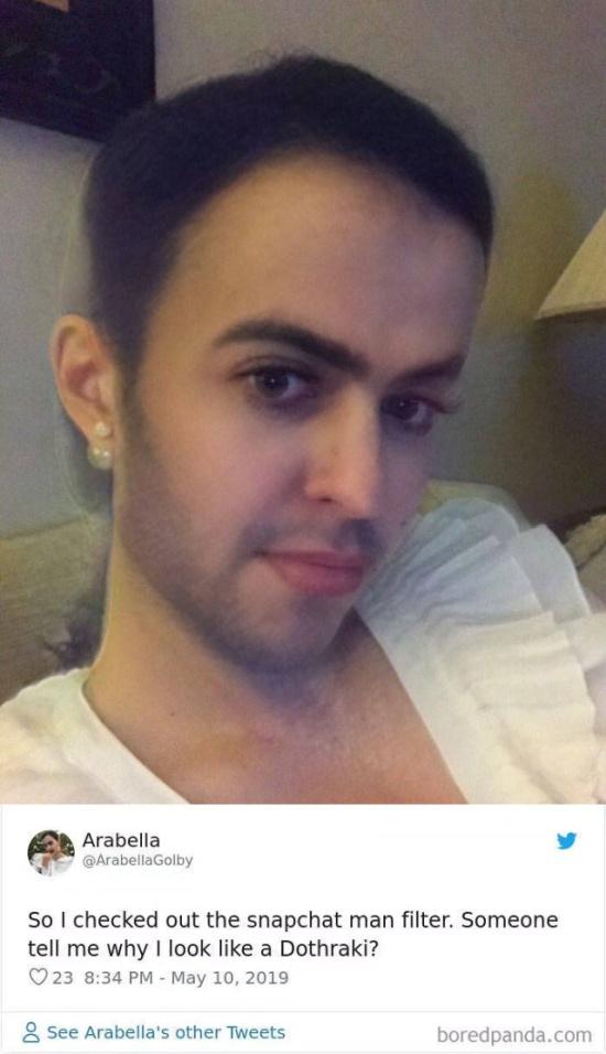 New Snapchat Gender Swap Filter (30 pics)