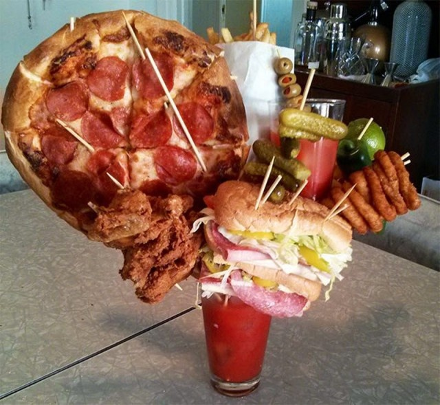 When Your Meal Looks Better Than You (20 pics)