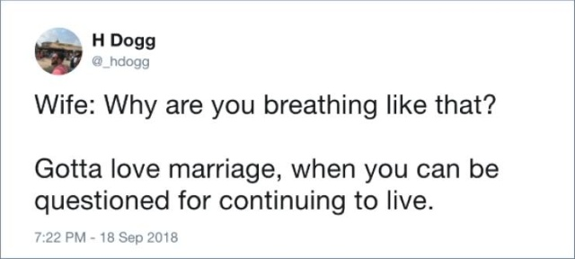 Tweets About Marriage (20 pics)