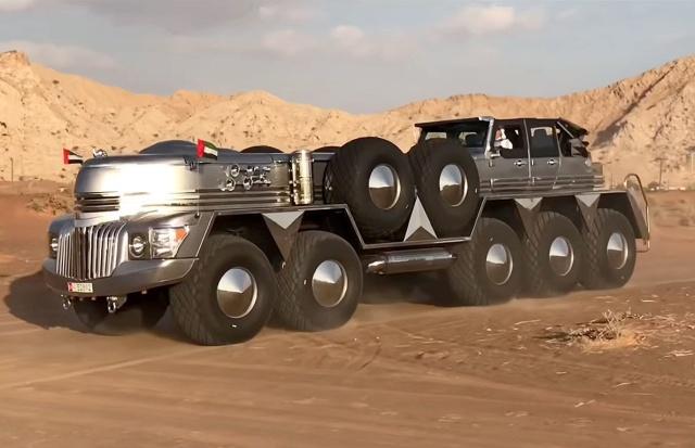10-Wheel SUV (10 pics)