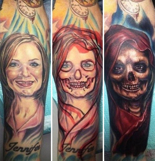 Covering Up Tattoos In Creative Way (31 pics)