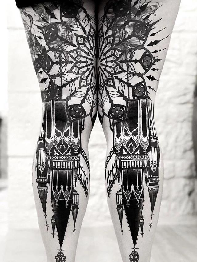Great Leg Tattoos (25 pics)