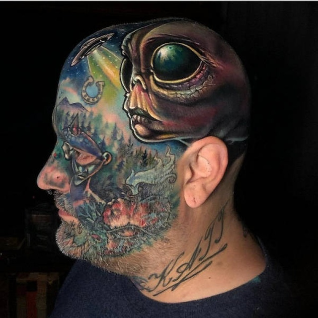 People Who Turned Themselves Into Monsters (47 pics)