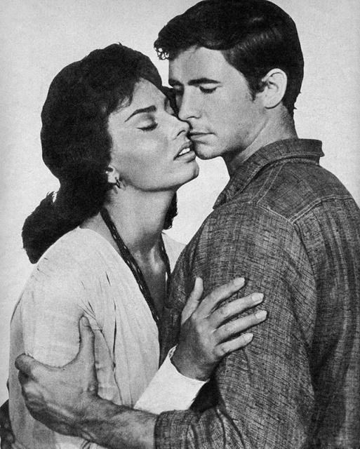 Sophia Loren and Anthony Perkins In 'Desire Under the Elms' (1958) (20 pics)