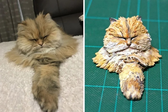 Funny Animal Images Turned Into Funny Sculptures By A Japanese Artist (30 pics)