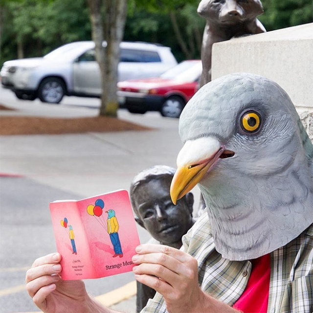 People In Pigeon Masks (21 pics)