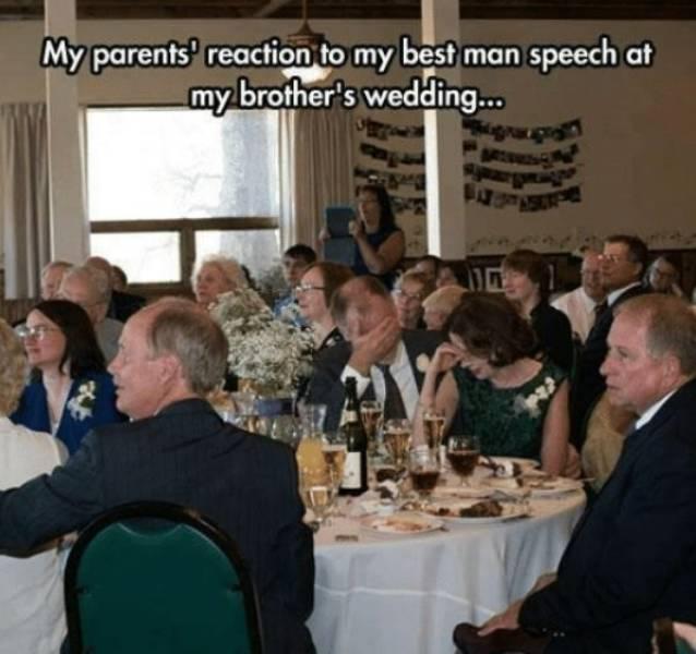Wedding Party Memes (30 pics)