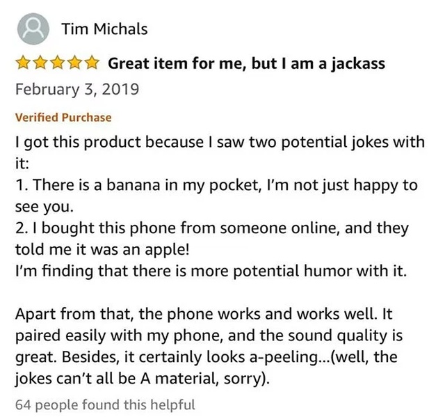 Funny Amazon Questions And Reviews (28 pics)