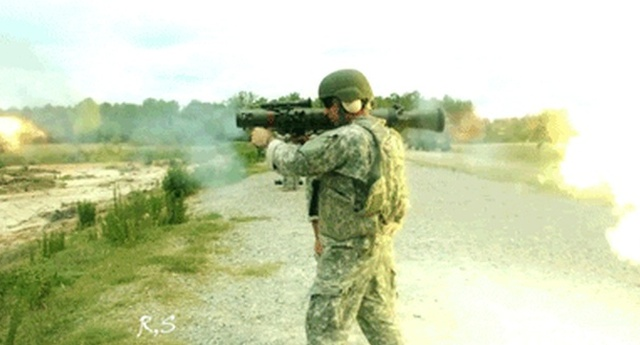 Most Powerful Hand-held Rifle Vs A Tank (14 gifs)