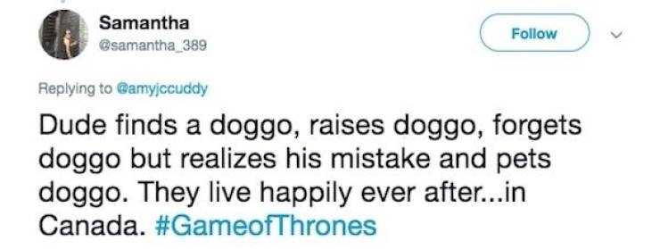 """Game Of Thrones"" Explained In One Tweet (23 pics)"