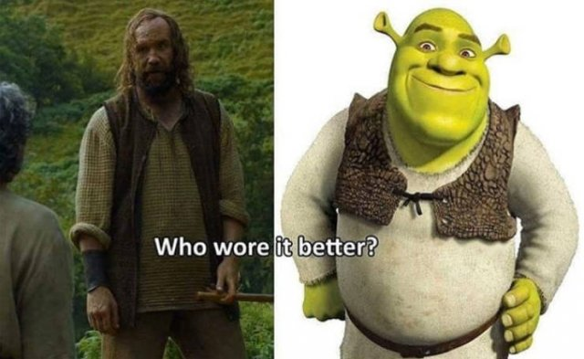 """Is """"Game Of Thrones"""" A Copy Of """"Shrek""""? (22 pics)"""