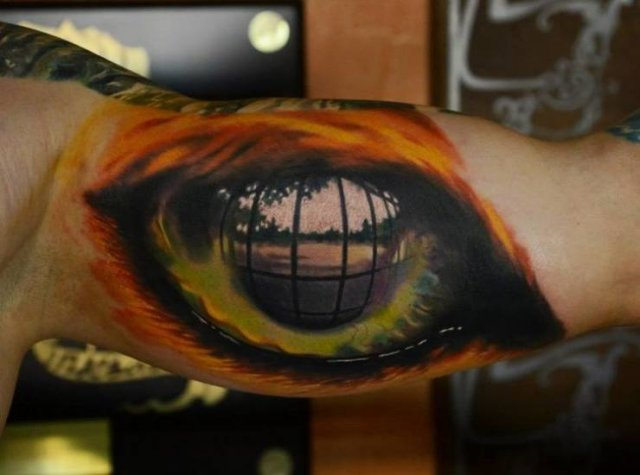 Very Realistic 3D Tattoo (26 pics)