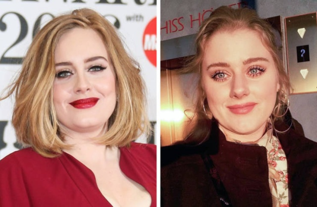 Celebrities And Their Incredibly Similar Doppelgängers (19 pics)