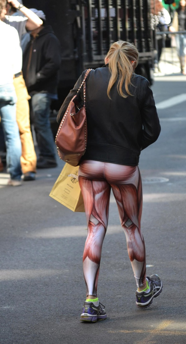 Muscle Leggings Is The New Trend (17 pics)