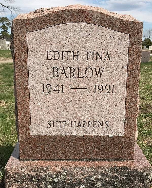 Tombstones Can Be Funny Too (24 pics)