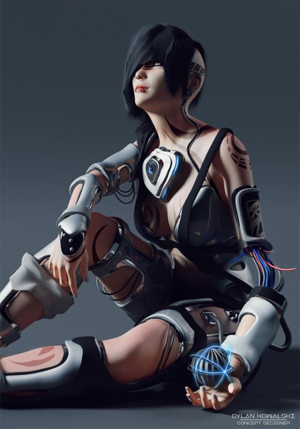 Great 3D Concept Artworks Of Dylan Kowalski (32 pics)