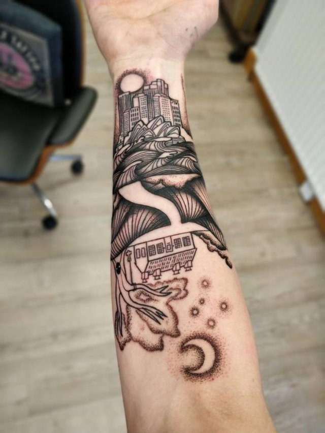 There Are Stories Behind These Tattoos (18 pics)