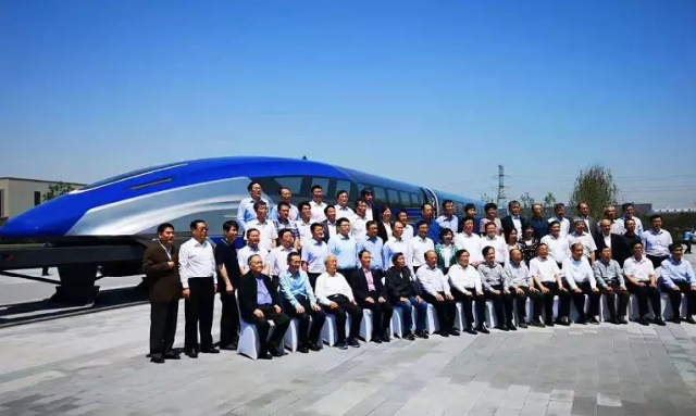 China's Maglev Train Prototype Has A Speed of 370 MPH (595 km/h) (12 pics)