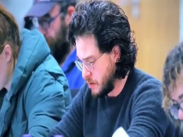 When Jon Reads The Last Episode