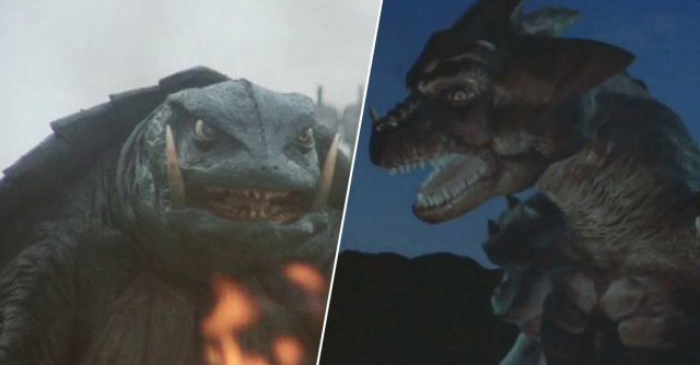Cheap Godzillas (15 GIFs)