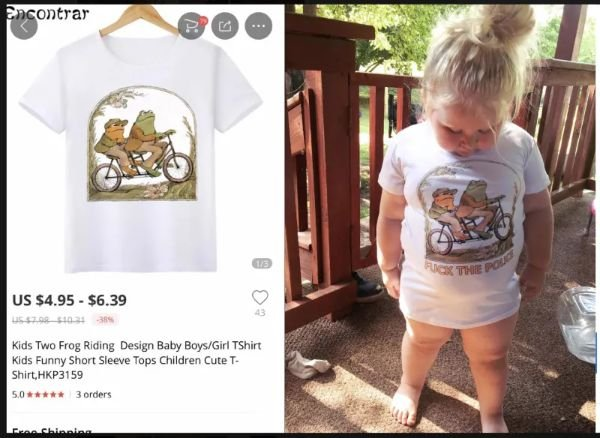 Mother Orders A Shirt For Her Daughter. But She Wasn't Expecting Something Like This... (5 pics)