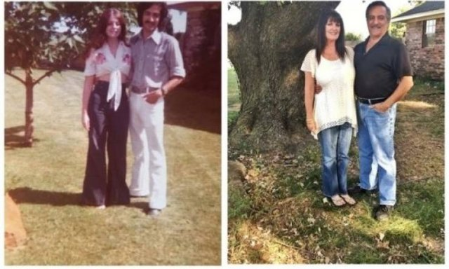 Then And Now Photos (32 pics)