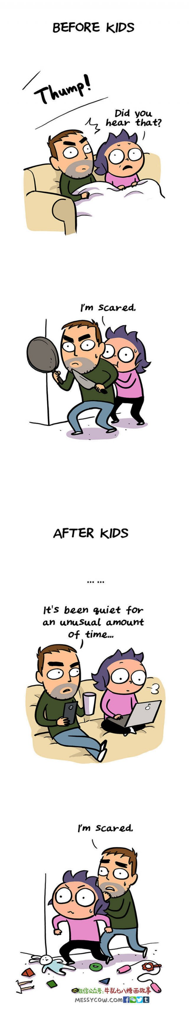 True And Funny Comics About Parenting (30 pics)