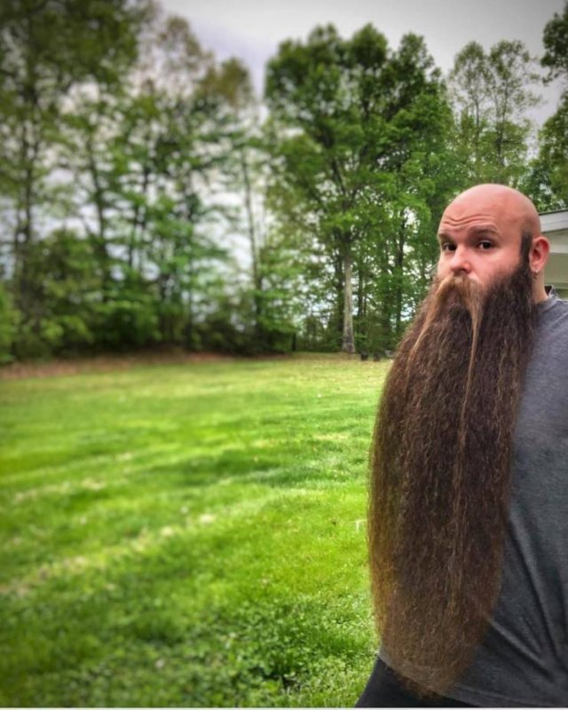 What Happens If You Don't Shave Your Beard For Five Years (14 pics)