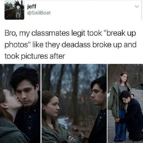 Break Up Memes (28 pics)