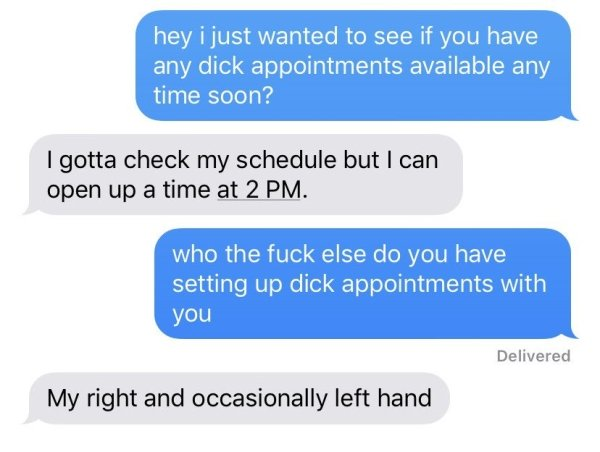 Women Share Their 'Dick Appointment' Requests To Their Husbands (26 pics)