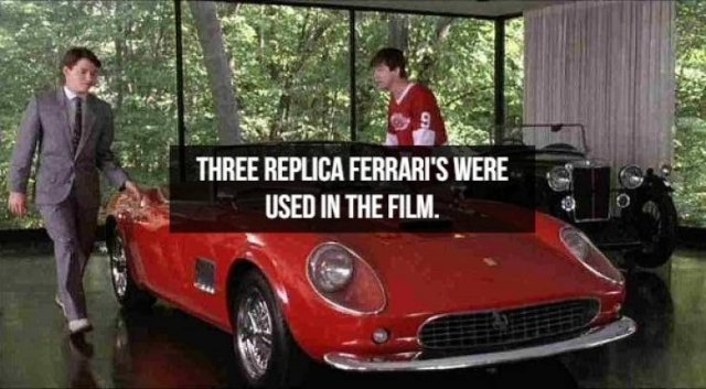 "Facts About ""Ferris Bueller's Day Off"" (14 pics)"