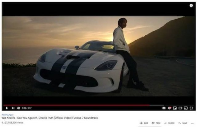 Top 10 Of The Most Viewed Videos On YouTube (10 pics)