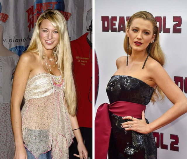 First Celebrity Red Carpet Photos Vs. How They Look Now (25 pics)