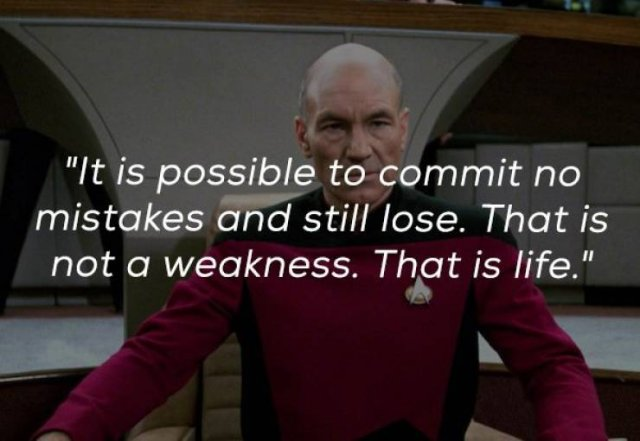 Jean-Luc Picard Quotes (18 pics)