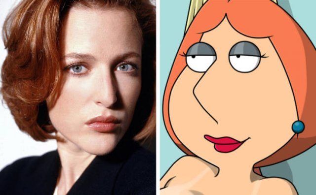 Real Life Doppelgangers Of Cartoon Characters (15 pics)