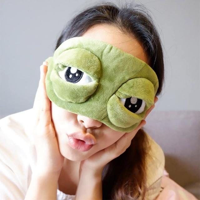 Funny Frog Eyes Sleep Mask (20 pics)