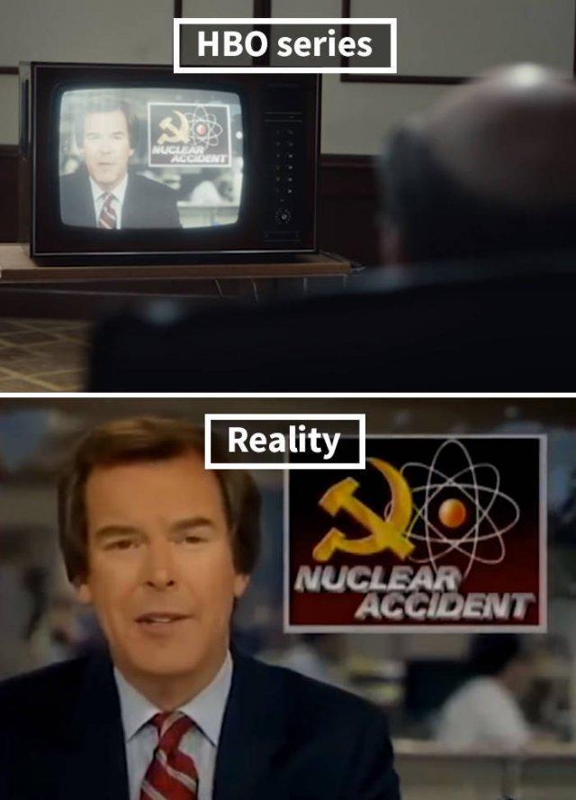 "HBO ""Chernobyl"" Vs Real Photos (20 pics)"