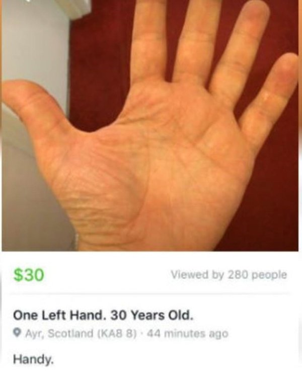 Facebook Marketplace Is A Strange Place (20 pics)