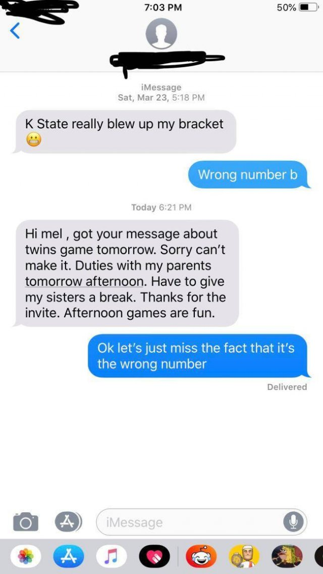 Wrong Number Texts Are Essentially Just Wrong (33 pics)