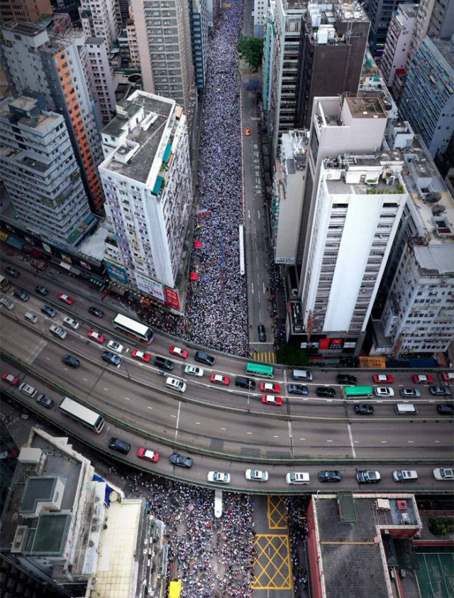 Recent Hong Kong Protests Don't Even Look Like Protests (15 pics)
