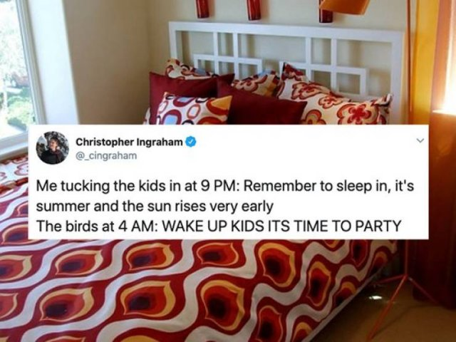 Summer Break Is A Difficult Time For Parents (25 pics)