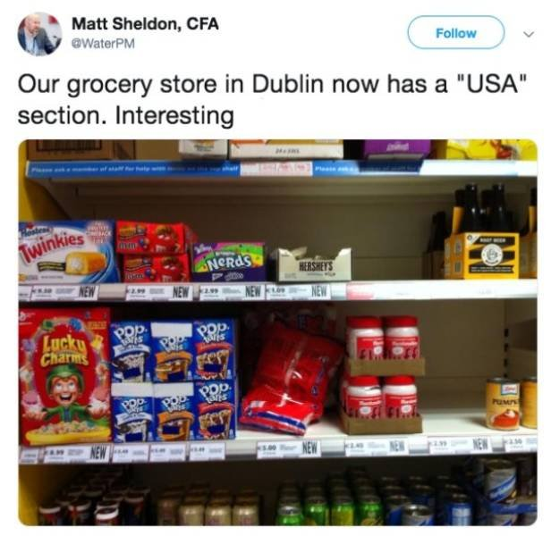 "How Various Countries Present ""American"" Food In Local Supermarkets (10 pics)"
