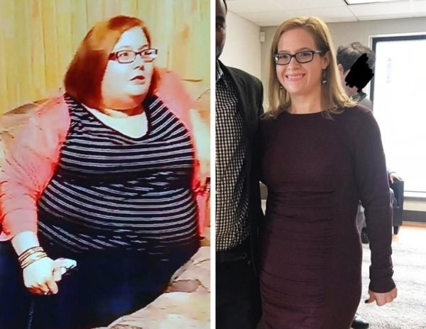 People Who Lost Weight (28 pics)