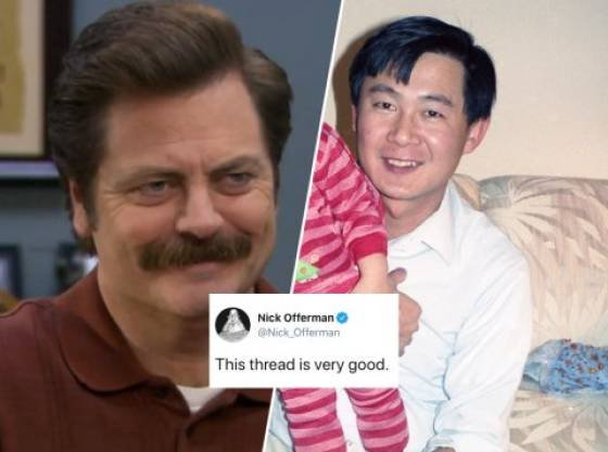 Guy Tells About The Asian Ron Swanson, Who Is Also His Dad (26 pics)