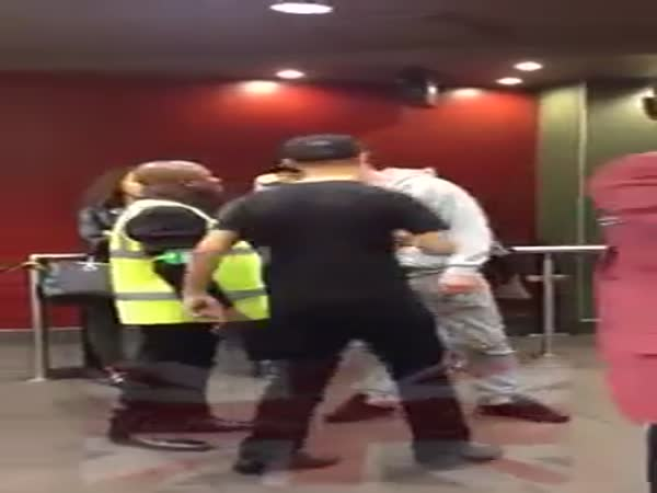 Bully Gets Knocked Out In McDonald's UK