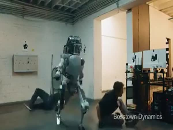 Robots Take Over Boston Dynamics