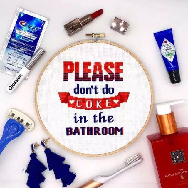 Cross Stitching For Grown Ups (14 pics)